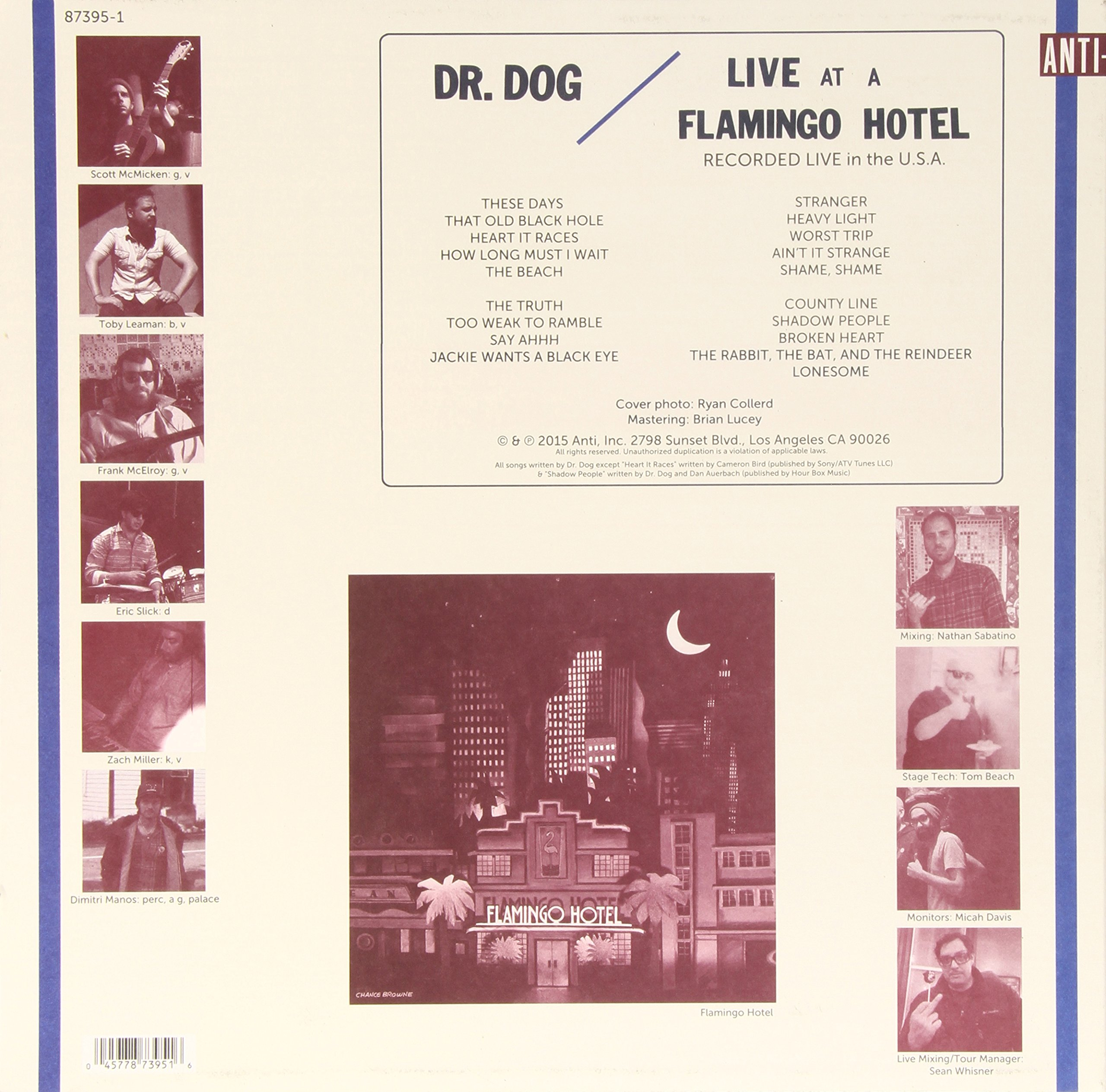 Live At A Flamingo Hotel (2-LP set, Includes download card) by Anti