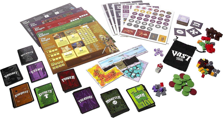 Leder Games Vast: The Crystal Caverns: Amazon.es: Juguetes y juegos