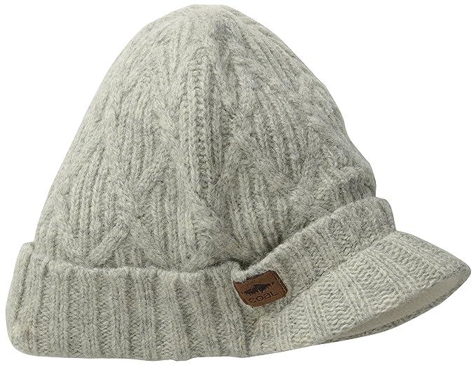 43cfaf77a9b The Yukon Brim Chunky Knit Warm Beanie Hat  Amazon.co.uk  Clothing