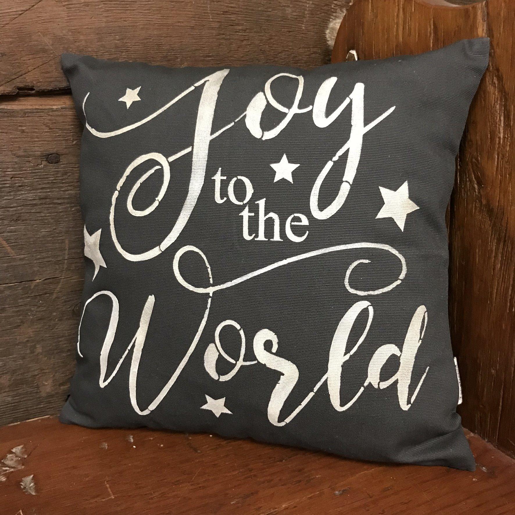 Designer Stencils Joy to The World Stencil (10 mil Plastic)
