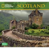National Geographic Scotland  2018 Wall Calendar