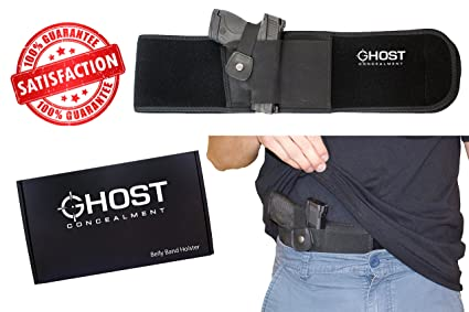 amazon com ghost concealment belly band holster for concealed