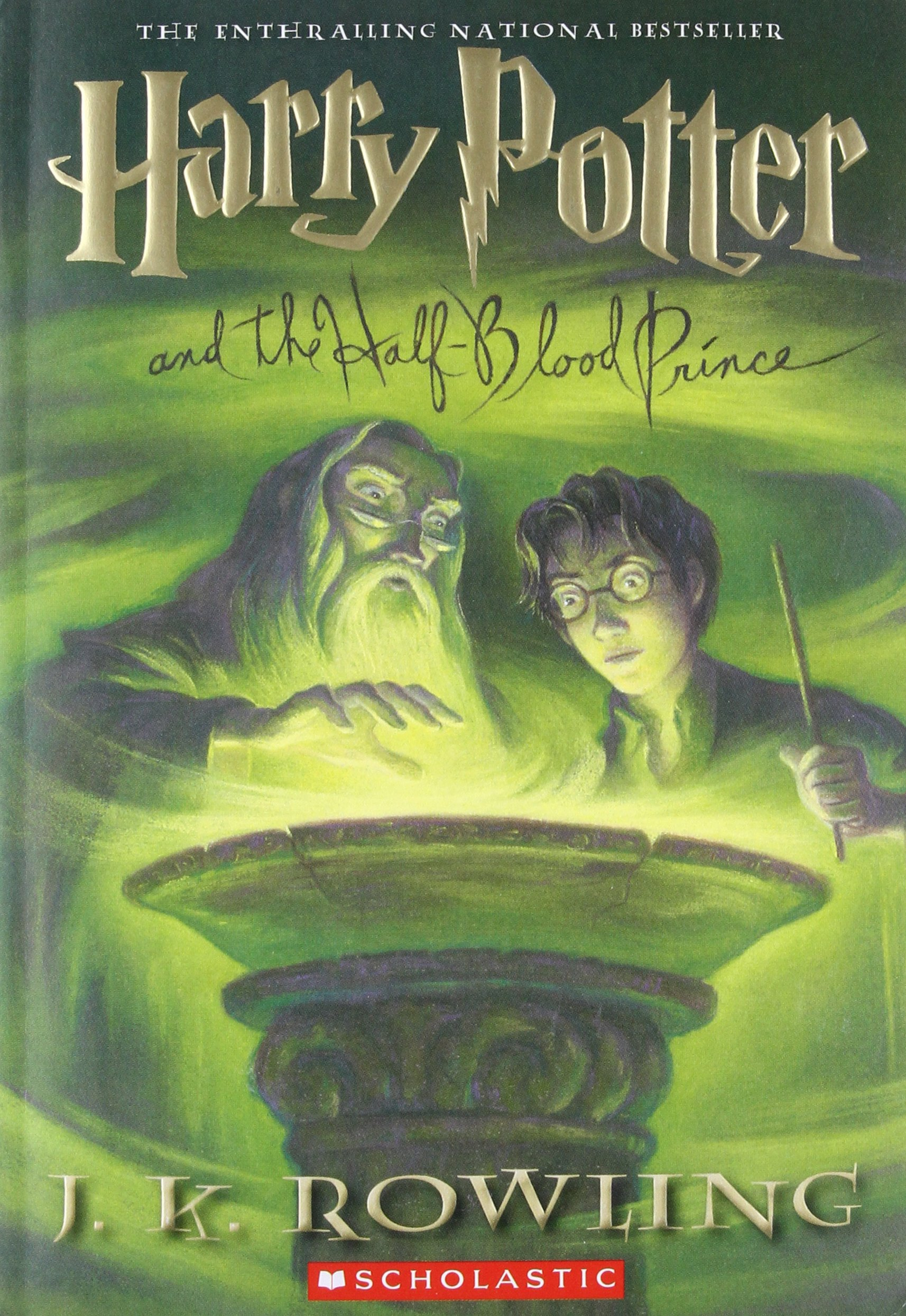 Harry Potter Half Blood Prince Book product image