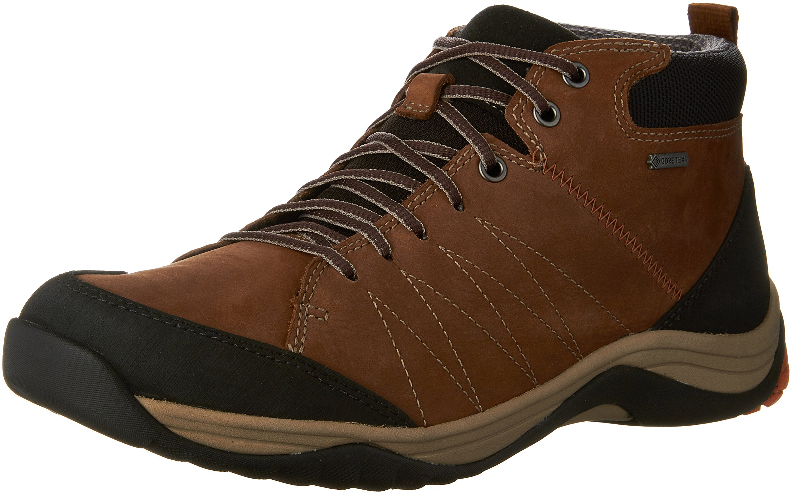 CLARKS Men's Baystone up Gore-TEX Ankle Boot,Tobacco Nubuck,US 9.5 M by CLARKS