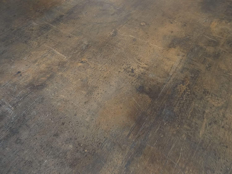 6,95/€//m/² kleines Muster PVC Bodenbelag in Metalloptik