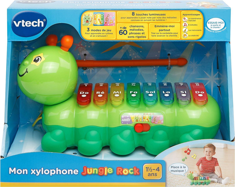 VTech Jungle Rock Xilofono ciniglia 80-174905 Versione FR