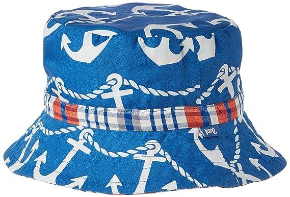 d93b9378eaae Kite Reversible Anchor Hat, Bonnet Garçon, Bleu Marine, 7 Ans  Amazon.fr   Vêtements et accessoires