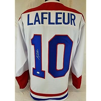 9d6713919de Guy LaFleur SIGNED AUTOGRAPHED JERSEY JSA COA Montreal Canadiens HOCKEY JSA  COA