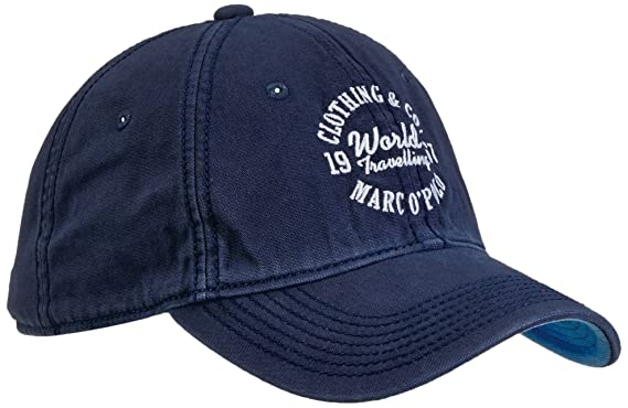 7eaec424dee Marc O Polo Men S Baseball Cap - Blue - Blau (Deep Blue) - One Size ...