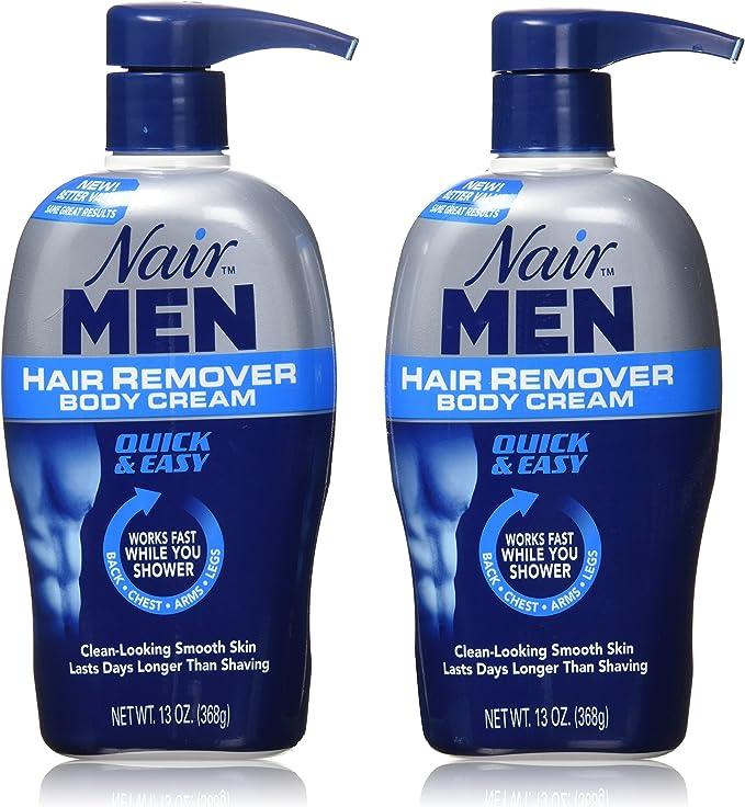 Nair Men Hair Removal Body Cream 13 Oz Pack Of 2 Amazon Ca Beauty