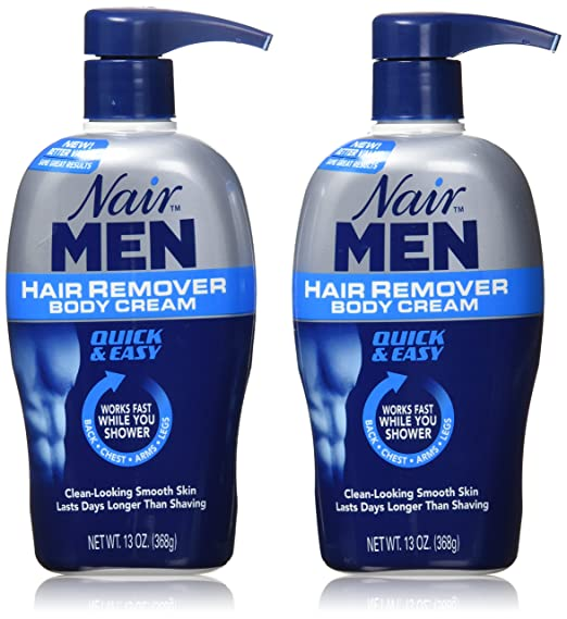Nair Men Hair Removal Body Cream 13 Oz (Pack Of 2) by Nair