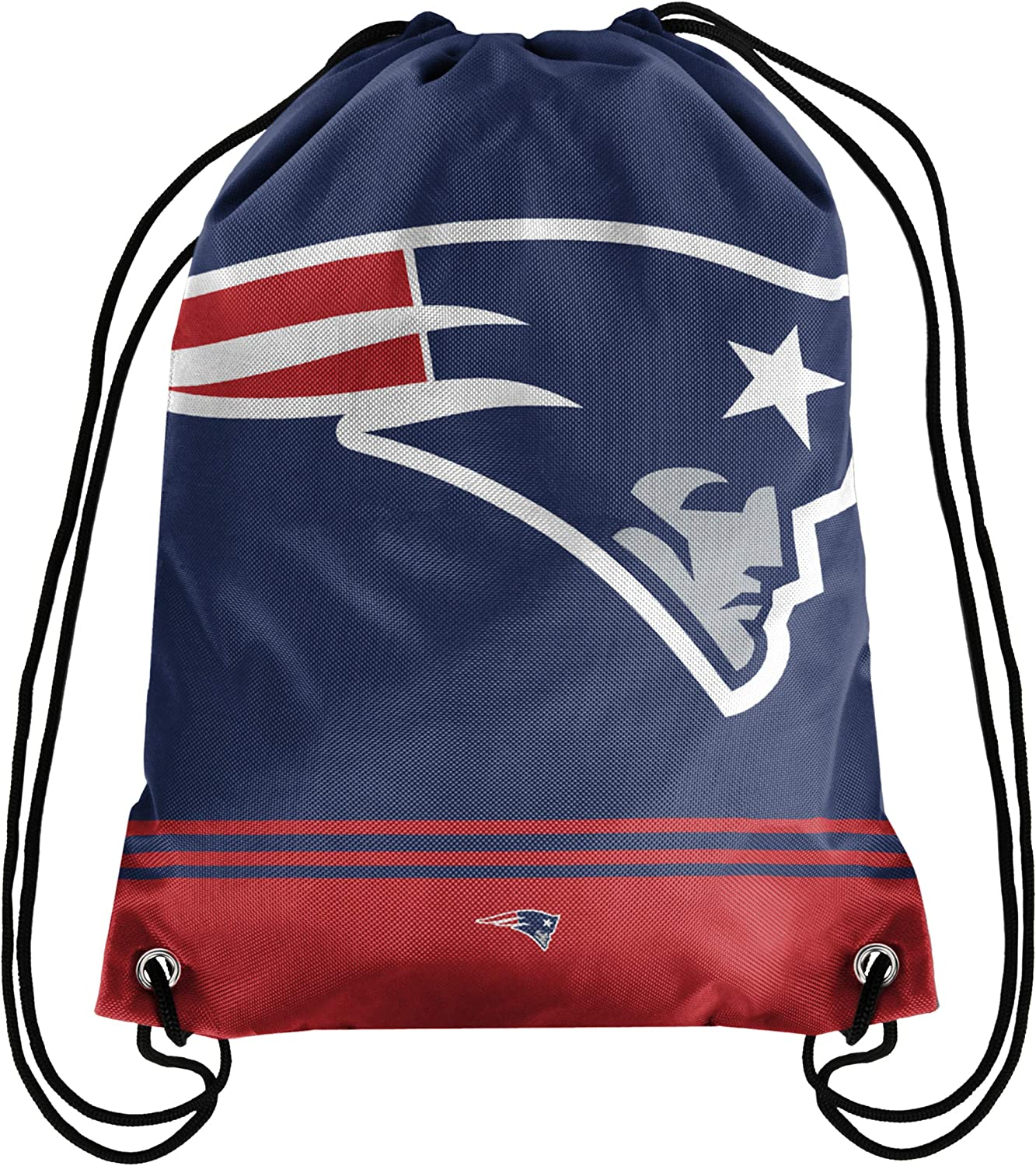FOCO Big Logo Drawstring Backpack – Limited Edition Bag – NFL Gear – Show Your Team Spirit with Officially Licensed Fan Gear