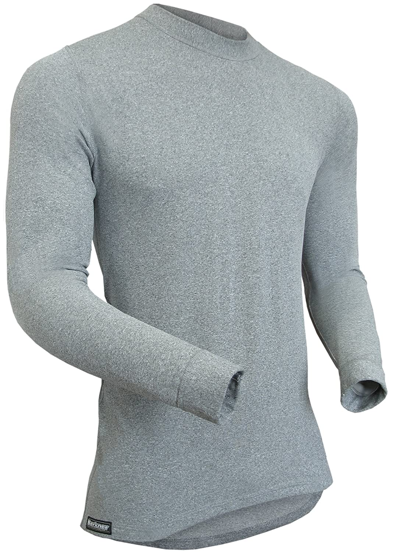 Berkner - Herren Thermoshirt / Skiunterwäsche / Funktionsunterwäsche - SILVER BION forte - Thermoactiv