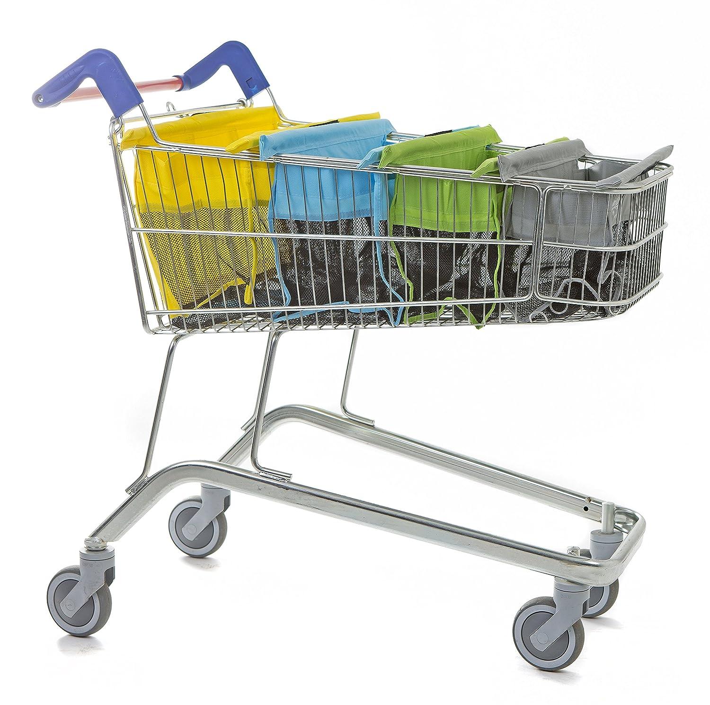 trolley bags Bolsas para carrito de la compra, color pastel TB004