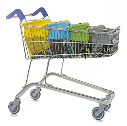 trolley bags Bolsas para carrito de la compra, color pastel