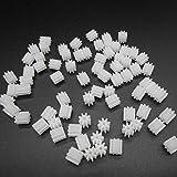 20pcs Plastic Spur Gear 0.5 Modulus T=8 Aperture