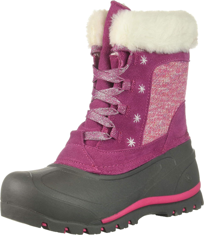 1 Medium US Little Kid Berry Northside Girls Snowbird Snow Boot