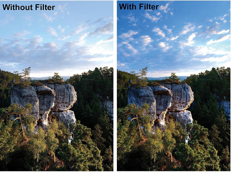 Neutral Density Glass Filter Multi-Resistant Coating MRC B+W 37mm 110M 3.0 1000X
