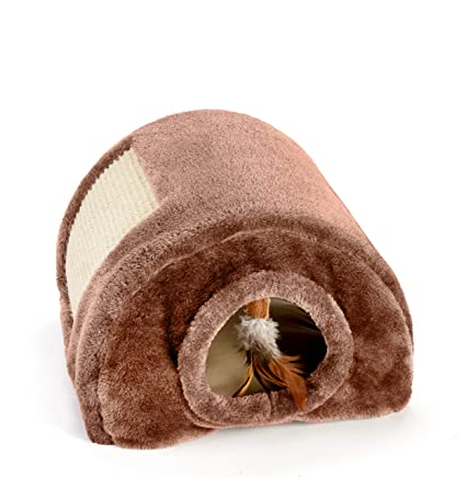 Amazon.com : ABC Pet Tunnel Sleeper/Bed for Pets : Cat Bed ...
