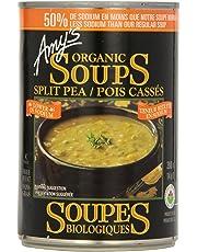 Amy'S Kitchen Organic Light In Sodium Split Pea Soup, 398 ml