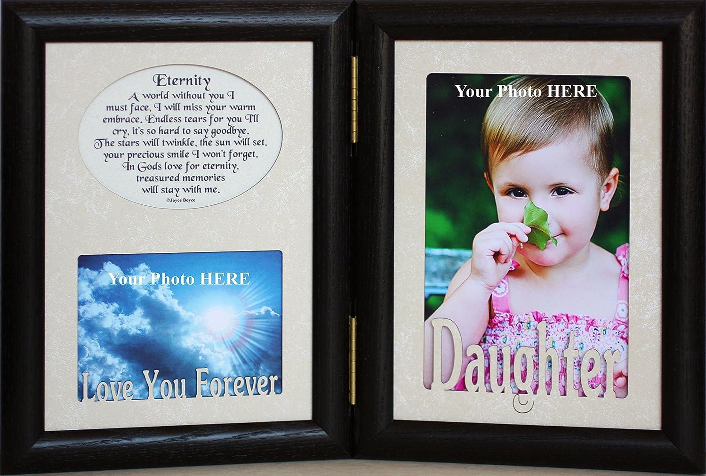 Amazon.com: 5 x 7 Hija & Eternity Poema fotos de recuerdo de ...
