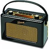 Roberts Revival RD60 FM/DAB/DAB+ Digital Radio - Piano Gloss Black