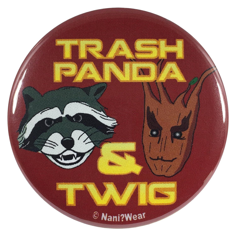 Amazon.com: Nani?Desgaste 2.25 inch Geek botón Panda de ...