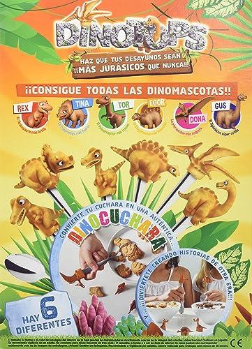 Artiach - Cereales Dinosaurus A Cucharadas, 350 g, Paquete de 4 ...