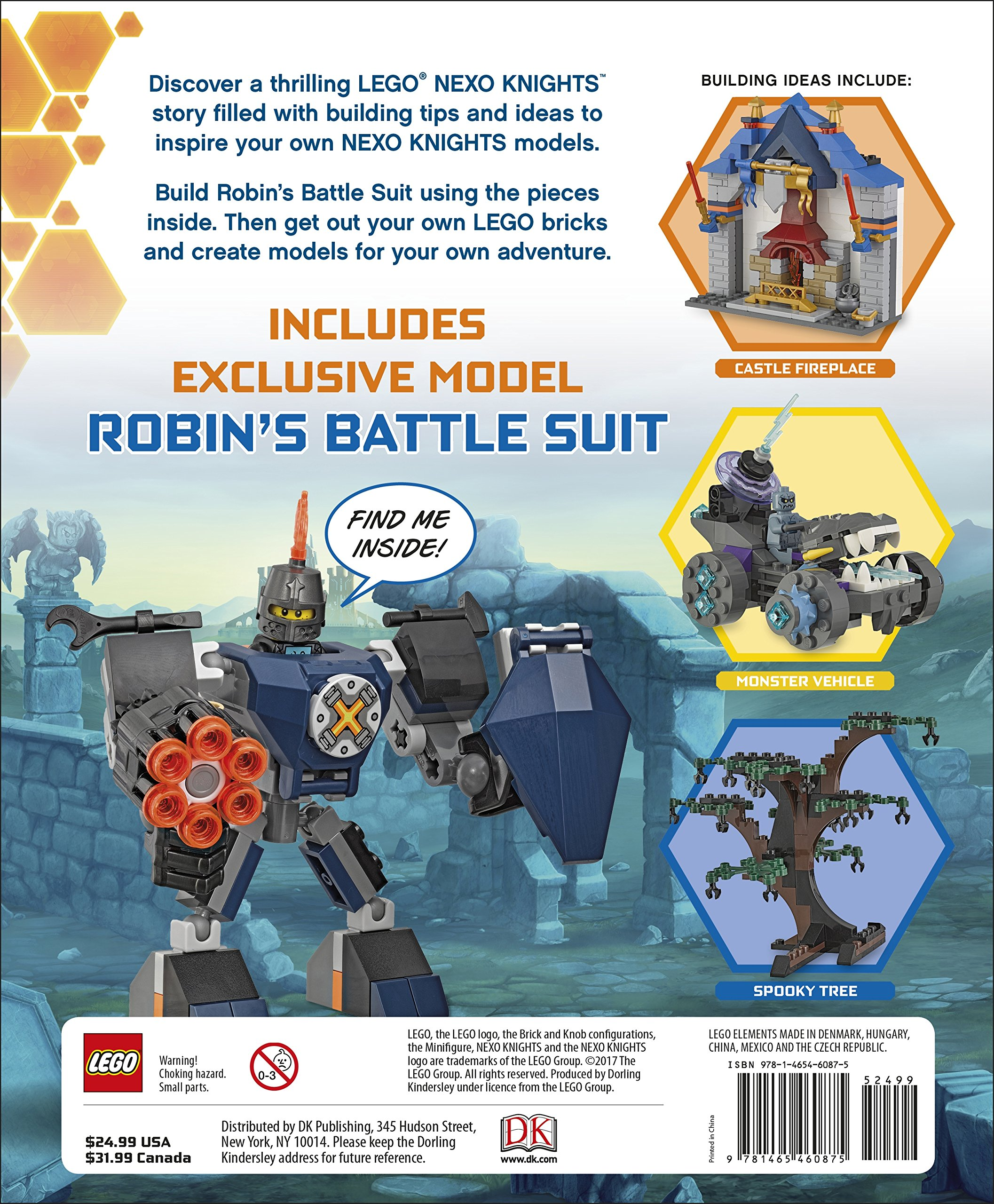 LEGO NEXO KNIGHTS Build Your Own Adventure: DK, Simon Hugo ...