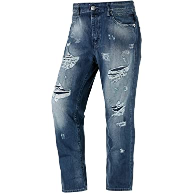 Replay Pantalones vaqueros gracelly, mujer, destroyed denim ...