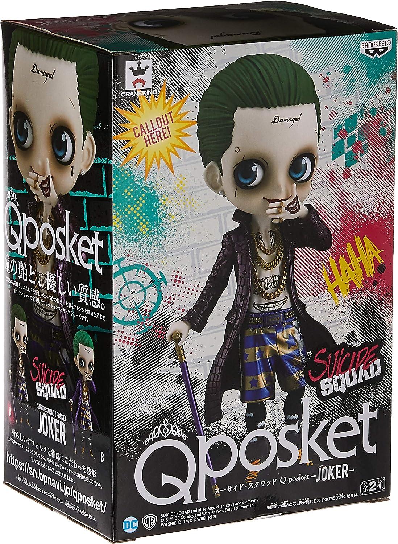 Banpresto Suicide Squad Q Posket-Joker (A: Normal Color Ver), Multicolor: Amazon.es: Juguetes y juegos