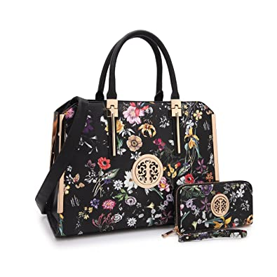 Amazon.com: MKP Collection Beautiful bolso con cartera Set ...