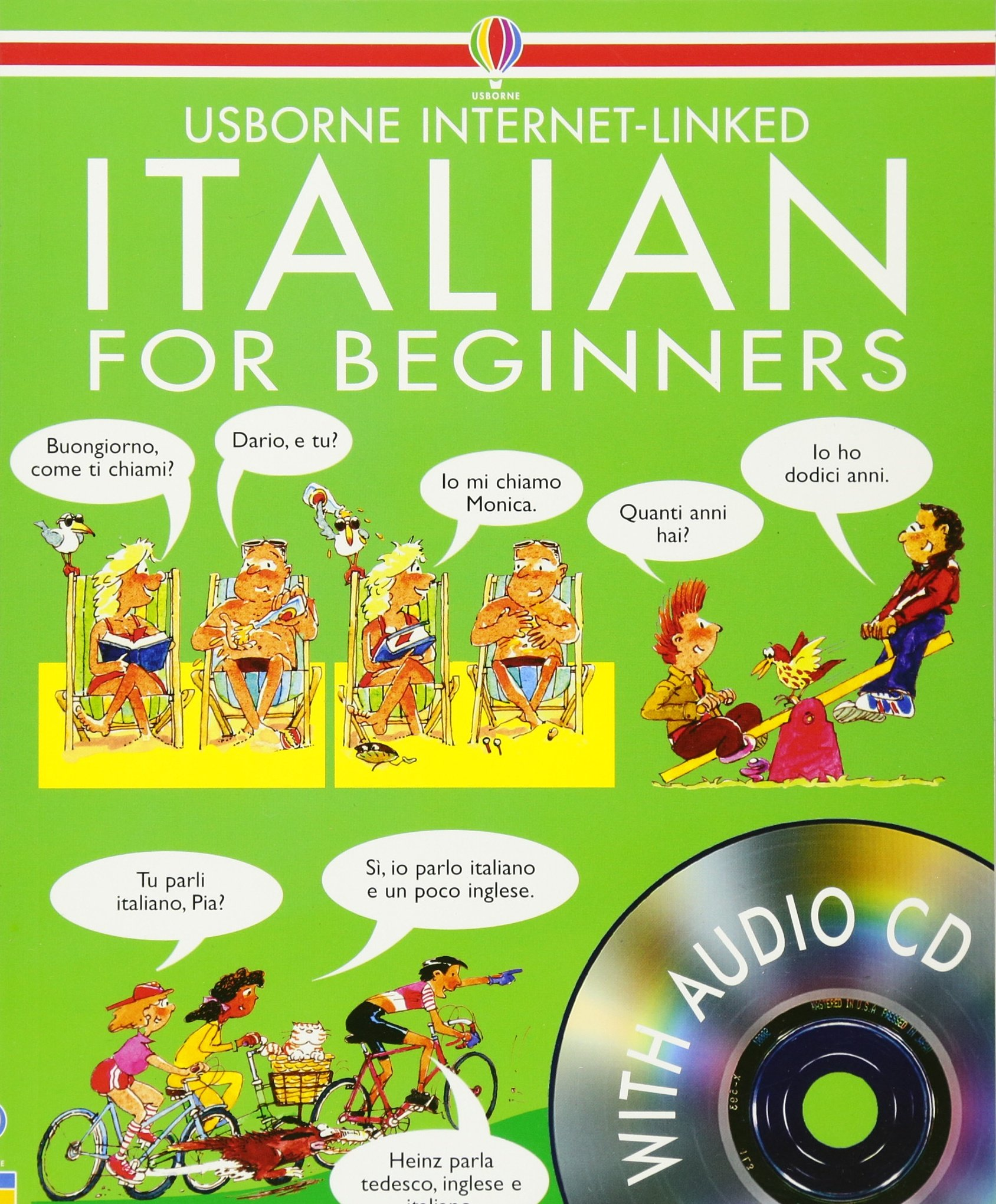 Italian For Beginners (Internet Linked with Audio CD)