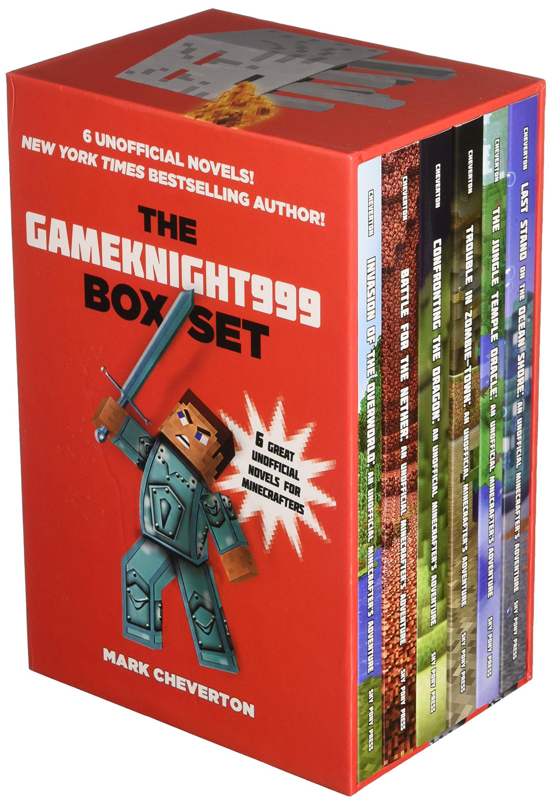 The Gameknight999 Box Set: Six Unofficial Minecrafter's Adventures!: Mark  Cheverton: 9781634502108: Amazon: Books