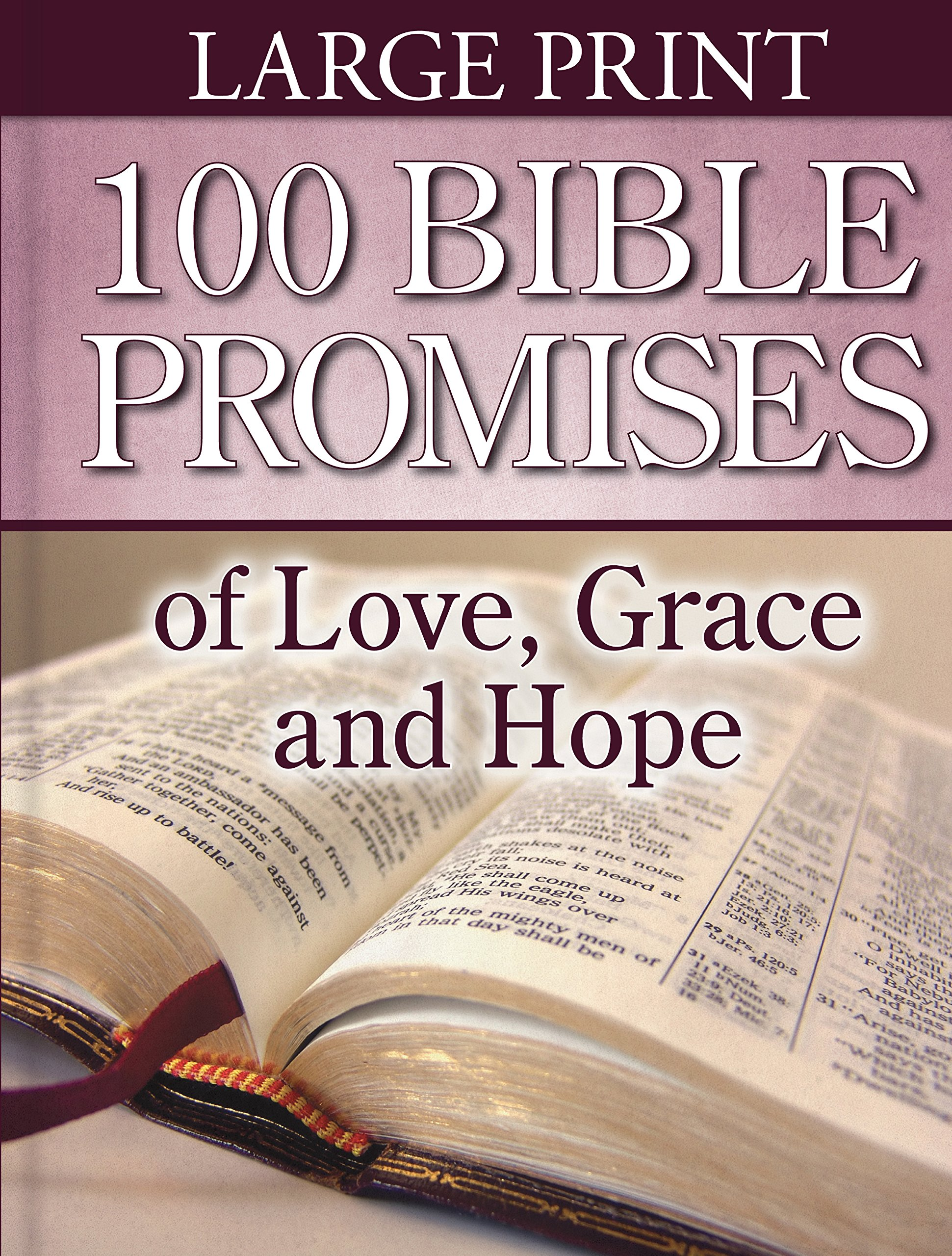 Read Online 100 Bible Promises of Love, Grace and Hope (Large Print) ebook
