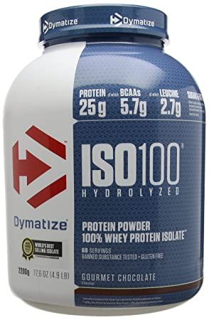 האחרון Dymatize ISO 100 Gourmet Chocolate Protein - 2.2kg: Amazon.co.uk AG-79