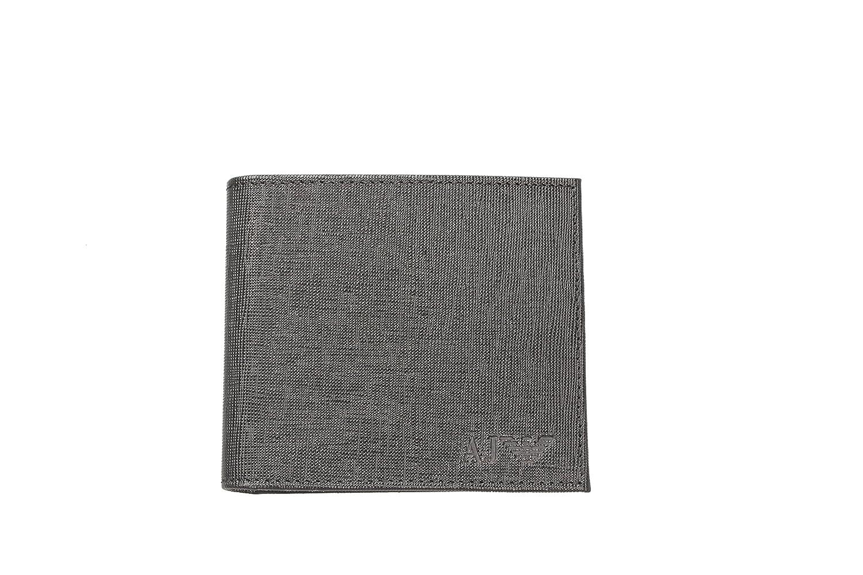 1ce4e52137 Portafoglio uomo ARMANI JEANS vera pelle men's wallet Genuine Leather (Moro  portacarte)