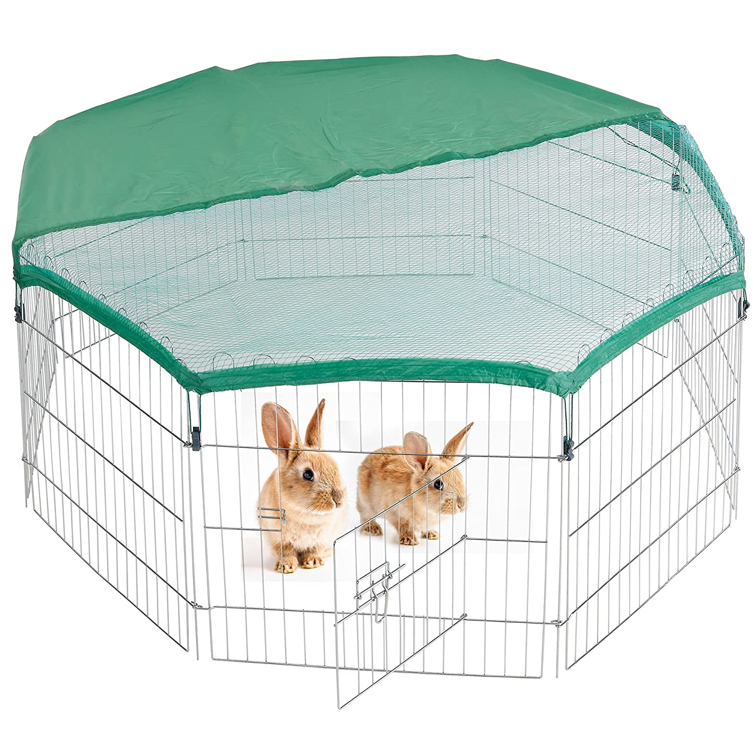 Milo & Misty Playpen for pets. Folding and Portable Outdoor Cage for ...