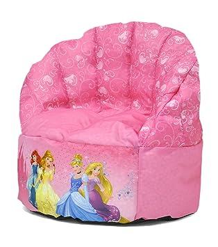 disney toddler princess bean bag chair amazon co uk toys games