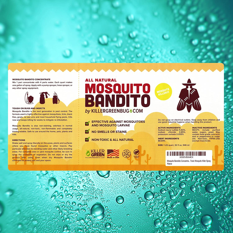 amazon com mosquito killer concentrate by killer green mosquito