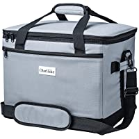 OlarHike 40/24 Can Cooler Bag Lunch Bag, Collapsible and Insulated Lunch Box Leakproof Cooler Bag for Camping, Picnic, BBQ