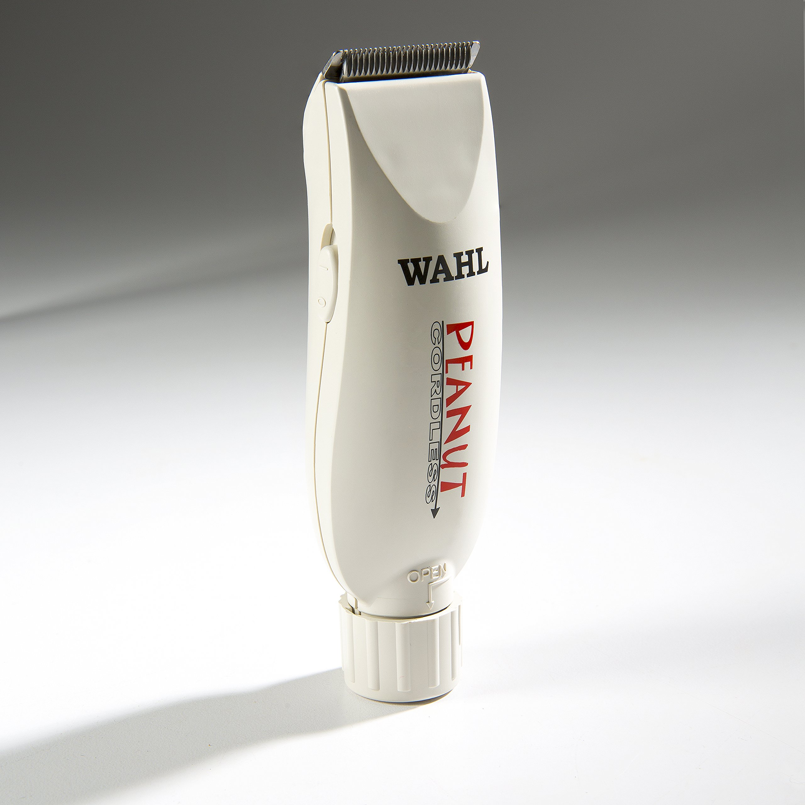 Wahl Professional Peanut Cordless Clipper/Trimmer #8663, White - Great On-the-Go Trimmer for Barbers and Stylists - Powerful Rotary Motor by Wahl Professional (Image #5)