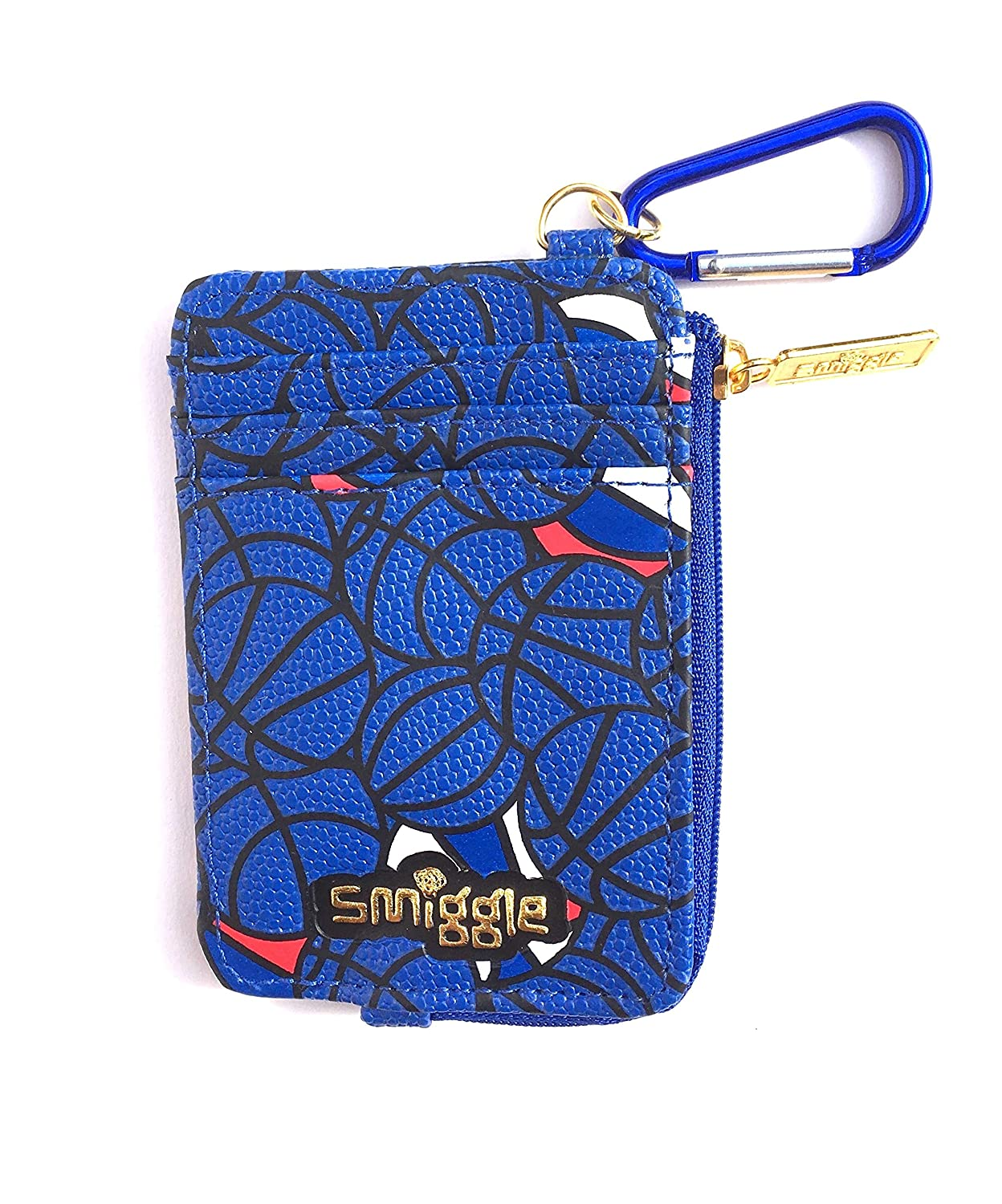 Smiggle Wallet Bball with Carabiner Clip