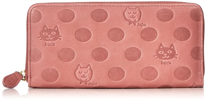 [ボックス21] 長財布 「Juju&beck」ラウンドファスナー型長財布 0331323 B078HPC6CD ピンク ピンク