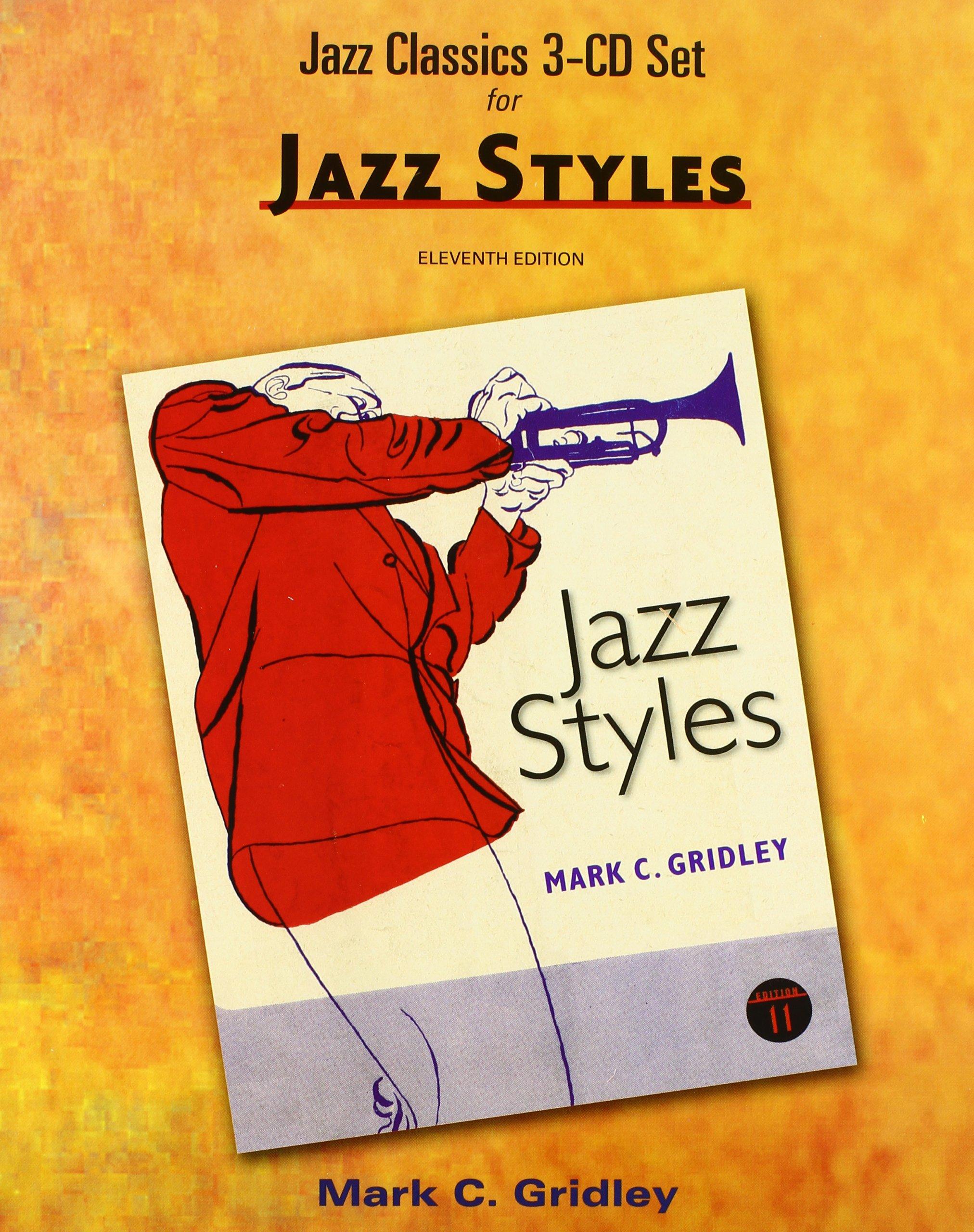 Jazz classics cd set 3 cds for jazz styles mark c gridley jazz classics cd set 3 cds for jazz styles mark c gridley 9780205036868 amazon books fandeluxe Images