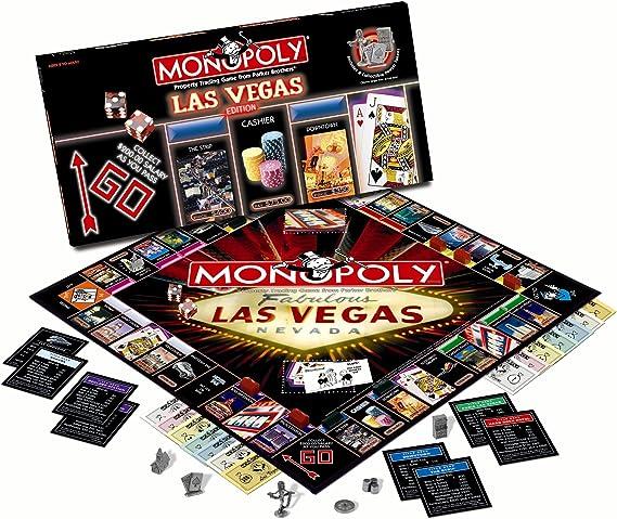 Amazon.com: USAopoly Vegas 2009 Monopoly Juegos: Toys & Games