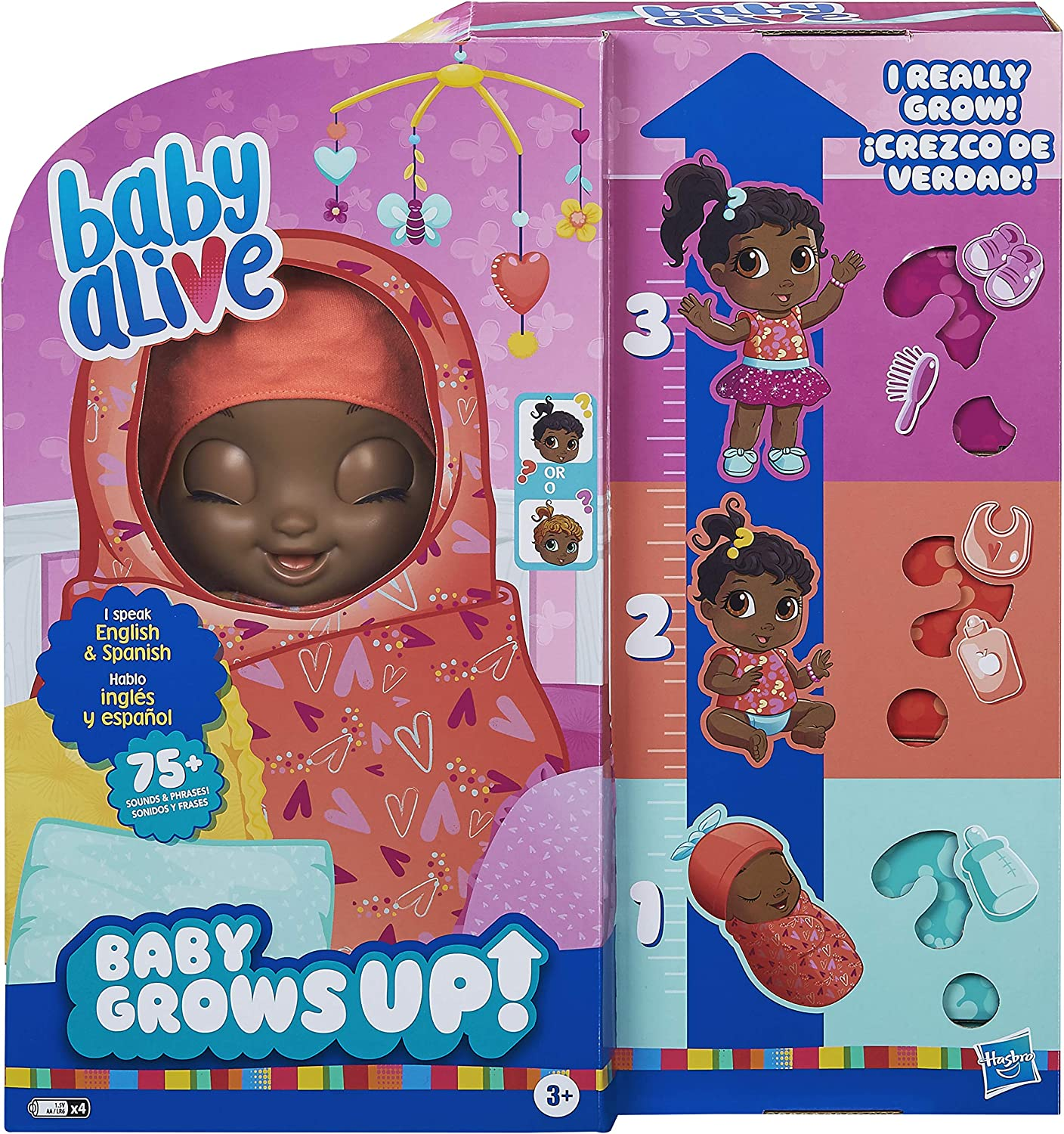 Baby Alive Baby Grows Up Dreamy SAME DAY SHIPPING Growing Doll