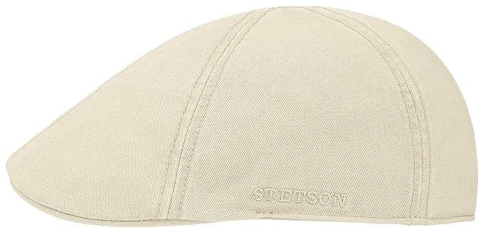 Stetson Gorras Texas Dyed Cotton Natural White Flat Cap: Amazon.es: Ropa y accesorios