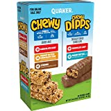 Chewy Granola Bars and Dipps Variety Pack, (58 Pack)