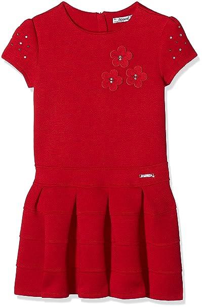1979420d9 Mayoral 4931 Vestido Punto Doble Cara, Rojo, 6M para Niñas: Amazon.es: Ropa  y accesorios